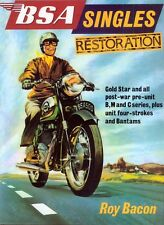 BSA Singles Restoration Book by Roy Bacon