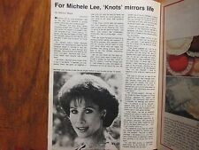 Nov. 29-1981 Chicago Tribune TV Week Maga(MICHELE LEE/CICELY TYSON/KNOTS LANDING