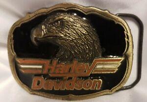 Buckle/ Harley Davidson / Baron / USA 1992 / Eagle