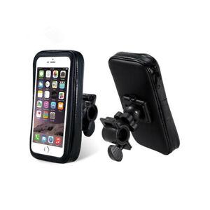 "Weather Resistant Bike Mount 6.3"" - Black XL Universal Holder Smart Phone STAND"