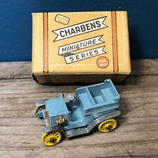 CHARBENS DIECAST MINIATURE SERIES BOXED OLD TIMERS CROCKS #10 WOLSELEY 1902 #stf
