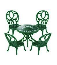 SYLVANIAN FAMILIES orné Table de jardin et chaises