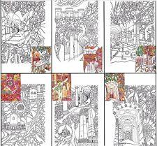 6 pagine in PDF A4 da colorare anche sul smartphone, mai più noia nella fila