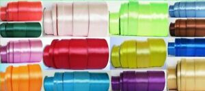 1mtr Sample Lenght <<SATIN RIBBONS>> 3mm, 6mm, 12mm, 25mm, 38mm, 50mm