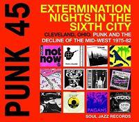 SOUL JAZZ RECORDS PUNK 45:EXTERMINATION NIGHTS IN THE SIXTH CITY  VINYL LP NEU