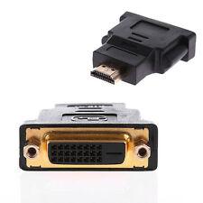 Práctico Audio HDMI macho a DVI-D Hembra 24 + 1 Cable Adaptador Convertidor