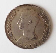 España: José Napoleón, 8 reales, 1809 IG, AEF