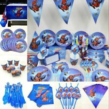 Spiderman Birthday Party Supplies 82pc/set For Kids Birthday Party Decorations