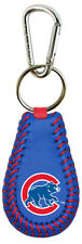 Chicago Cubs Blue Color Leather Baseball Keychain (New) Key Chain Jewelry
