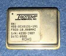 Used Isotemp Ocxo131 191 10mhz Ocxo Oscillator Square Wave 12v