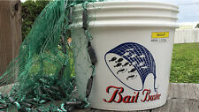 "Bait Buster Mullet Cast Nets 1 4"" Sq. Mesh 7 Ft. Radius"