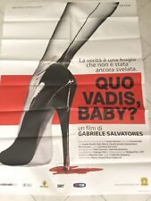 Quo Vadis Baby Manifesto Poster Gabriele Salvadores Originale