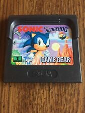 Sonic The Hedgehog (Sega Game Gear) Video Game