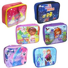Back to School - Disney/TV Character Insulated Lunch/Cool Bag - Choose Design