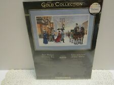 "Dimensions Cross Stitch Gold Collection Kit Alan Maley's ""Gracious Era"" 1996 NIP"