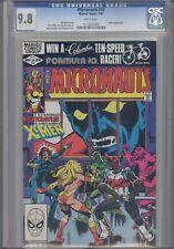 Micronauts #37 CGC 9.8 1982  featuring X-men & Nightcrawler: Price Drop!