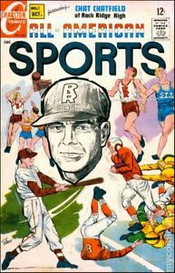 All American Sports #1 VG 4.0 1967 Stock Image Low Grade