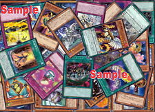 Yu-Gi-Oh OCG Common Cards Set of 100 Mixed Lot#B