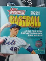 2021 Topps Heritage MLB Baseball Mega Box Walmart Exclusive - Factory Sealed