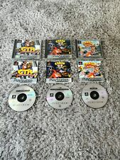 3X Crash Bandicoot Games Bundle  PS1 Sony Playstation