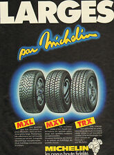 Advertising michelin tire advertising 1984 large high fidelity mxl