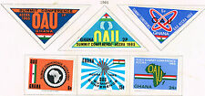 Ghana African Countries Summit in Accra Map set 1965 MLH