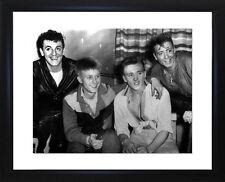 Gene Vincent Joe Brown Billy Fury and Eddie Cochran Framed Photo CP1508