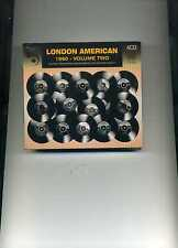 LONDON AMERICAN 1960 VOLUME TWO - EDDIE COCHRAN PAT BOONE DRIFTERS - 4 CDS - NEW