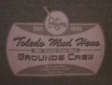 Toledo Mud Hens baseball tee Tigers minor-league small T shirt lawnmower logo