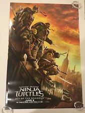 Teenage Mutant Ninja Turtles Original Theater Movie Poster One Sheet DS 27x40