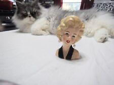 Mini Marilyn Monroe Lady Head Vase