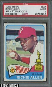 1965 Topps #460 Richie Allen Philadelphia Phillies All-Star Rookie PSA 9 MINT