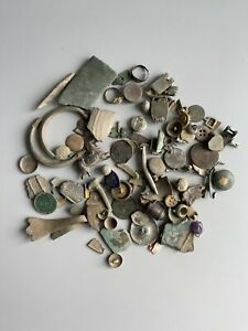 Joblot Collection Of Metal Detecting Finds
