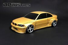 RC Body Car Drift Touring 1:10 BMW 3 E 46 Coupe E46 style APlastics New Shell