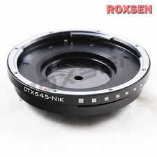Contax 645 C645 mount lens to Nikon F Adapter with aperture D5 D500 D810 D7200