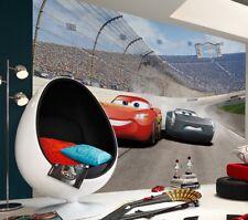 Giant kids Wall mural Wallpaper Disney Cars 3 boys & girls room deco NO ADHESIVE