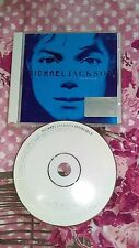 Michael Jackson : Invincible (CD, 2001) Rare Collectable Limited Blue CD Cover