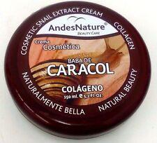 Andes Nature Snail Extract and Collagen Cream 5.1 oz- Crema De Baba De Caracol