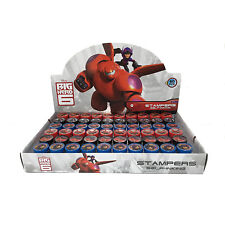 New 60pc Big Hero 6 Self Inking Stamp Set Kid School Supplies Party Favors