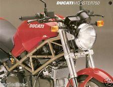 Motorcycle Brochure - Ducati - Monster 750  (DC276)