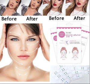 40pc Sticker Invisible Thin V-Shape Face Facial Label Lift Up Adhesive Tape Chin