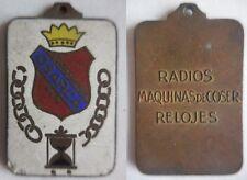 medaglia radio macchine da cucire orologi società Osarca Spagna