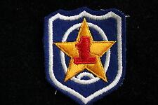 REPUBLIC SOUTH KOREA KOREAN ARMY CLOTH SHOULDER PATCH BADGE 1ST DIVISION CORPS ?