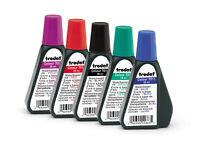 TRODAT® 7011 Stempelfarbe in 5 Farben, 28ml
