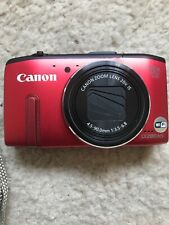 CANON PowerShot SX280 HS Digital Camera 20X Optical Zoom 12.1MP Red
