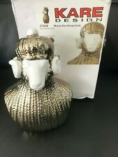 KARE  Design 37438 Sample Money Box Sheep Gold/White SALE LAST ONE!!!
