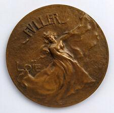 SAMF, Loïe Fuller par Pierre Roche, 1900, médaille Bronze Medal