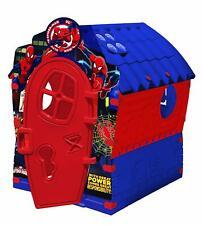 Casetta Spider Man Gioco per Bambini da Giardino Esterno Happy House