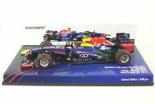 Red Bull F1 Rb9 N.2 M.webber Brazil GP 2013 - 1/43 Minichamps