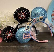 Disney Parks Disneyland Marquee Sign & California Adventure Headbands